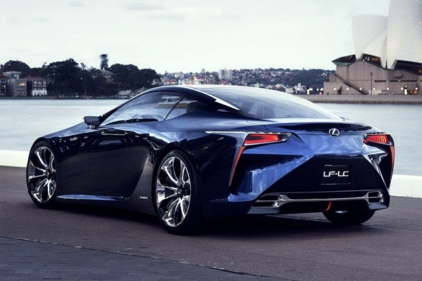 Lexus LC 500 Spec And Review | FutureTechno
