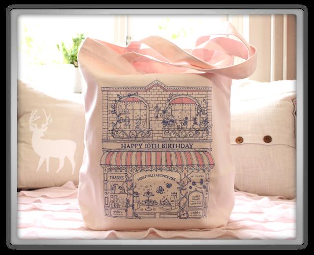 EtudeHouse2012 Mega Epic Etude House Super Haul Review Goodies kawaii cute pink ebay Happy 10th Birthday Canvas Bag
