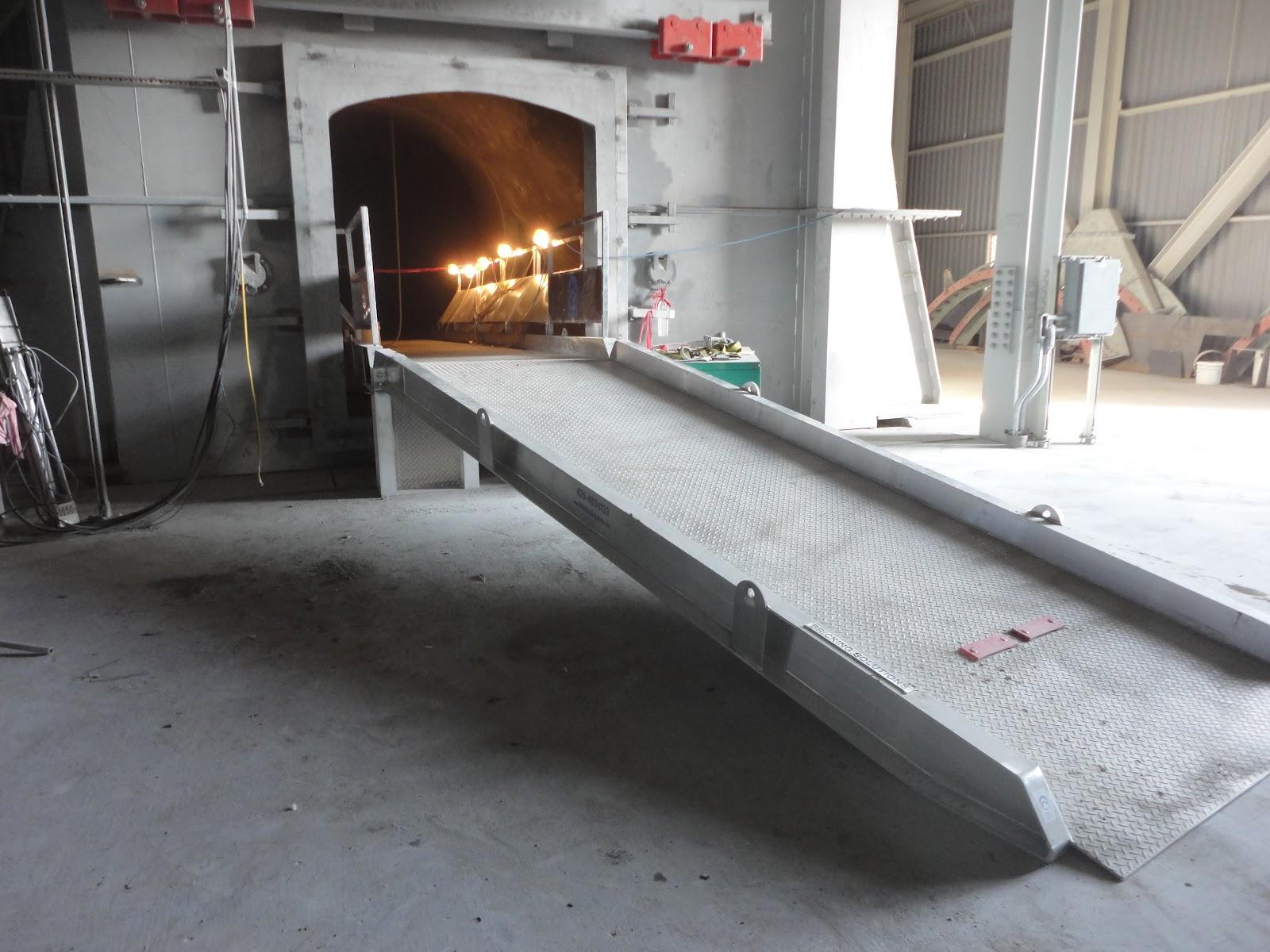 Cement Kilns In Texas : Bricking solutions inc kiln access ramp for txi hunter