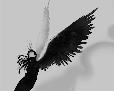 Como um anjo...