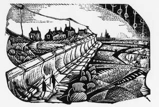 Along the Sea Wall by Neil Bousfield