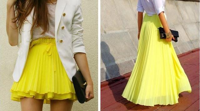 Little girl big world craving yellow skirt