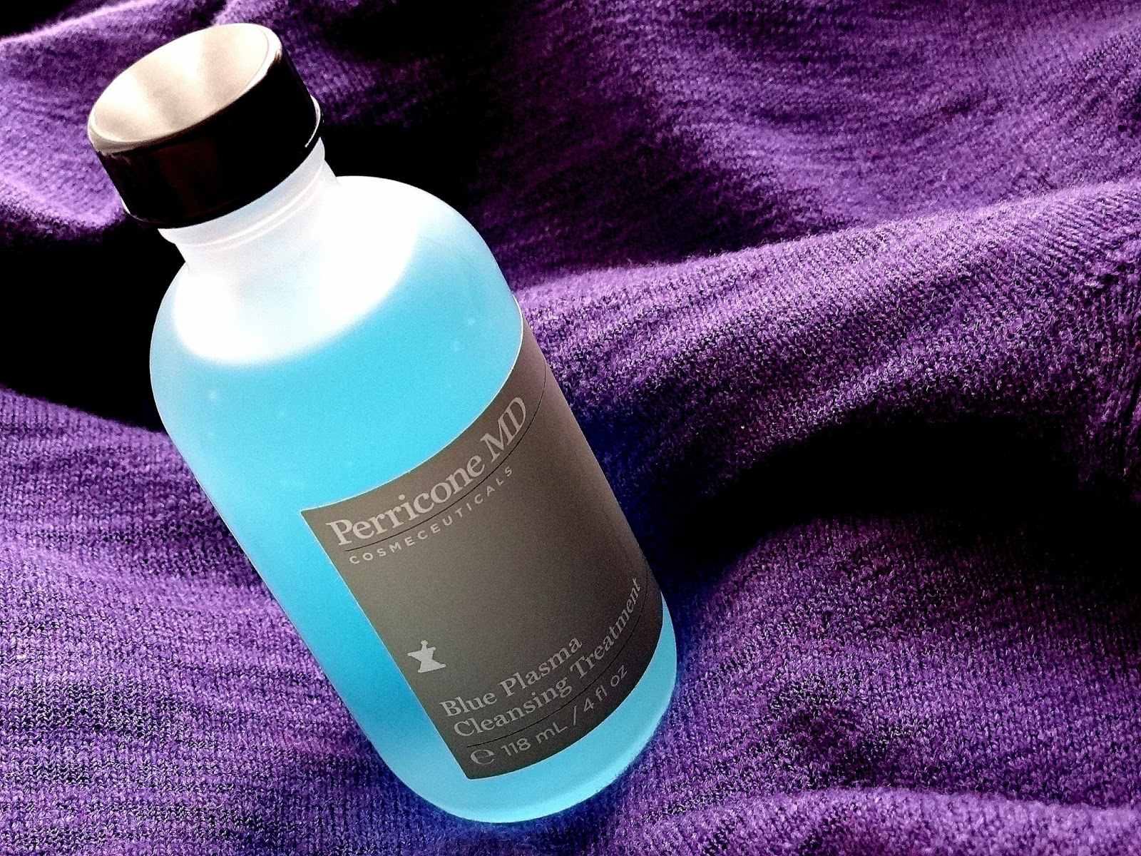 Perricone MD Blue Plasma Cleansing Treatment Review, Photos