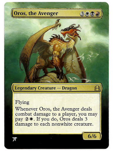 Oros the Avenger magic Altered Art mtg card art magic the gathering art mtg altered art magic card art artwork altered art mtg cards Oros EDH Oros MTG Oros Commander Deck