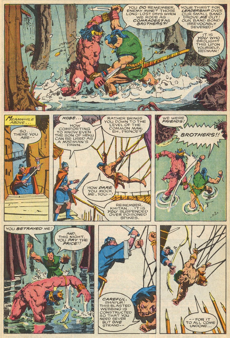 Conan the Barbarian (1970) Issue #195 #207 - English 22
