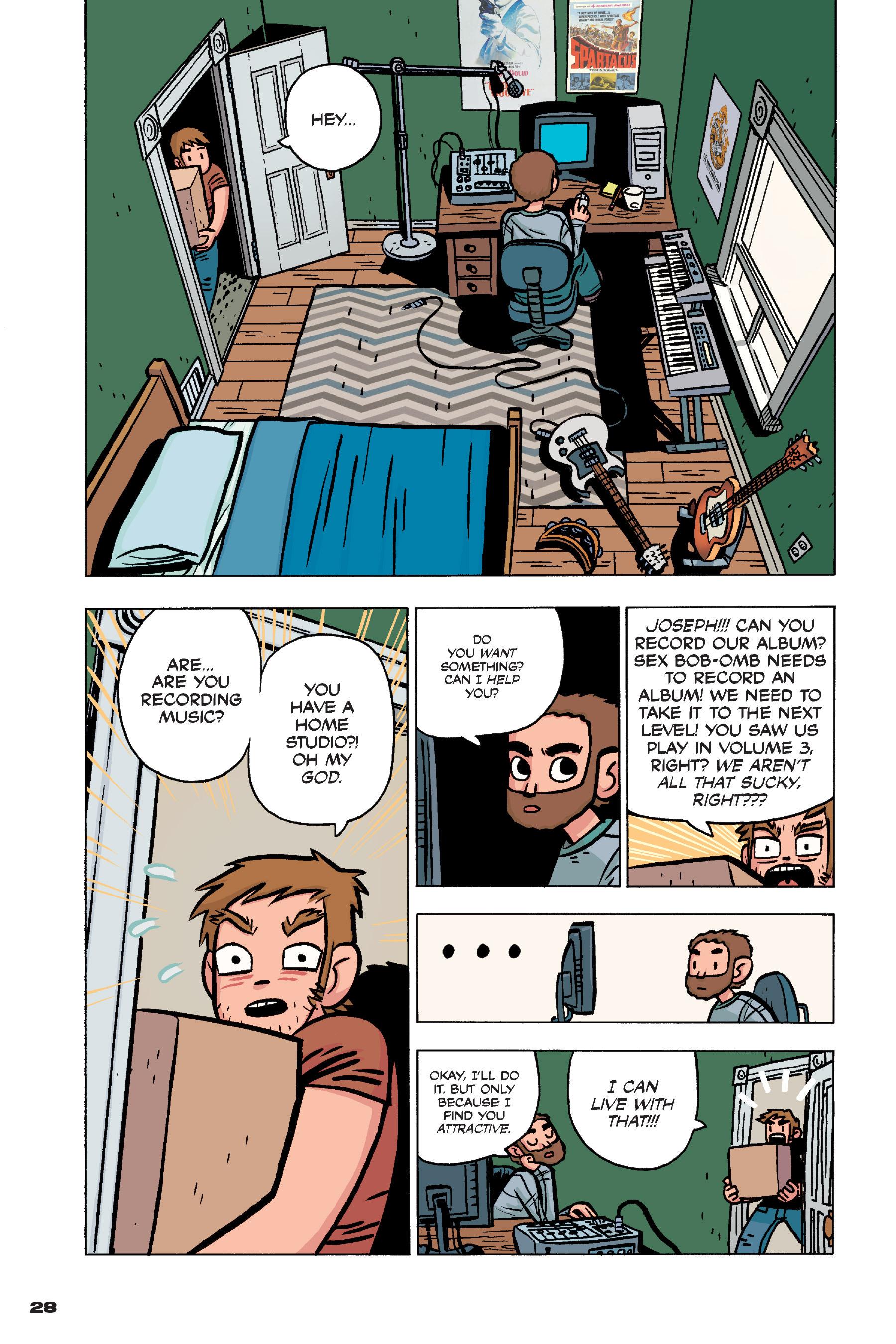 Read online Scott Pilgrim comic -  Issue #4 - 27