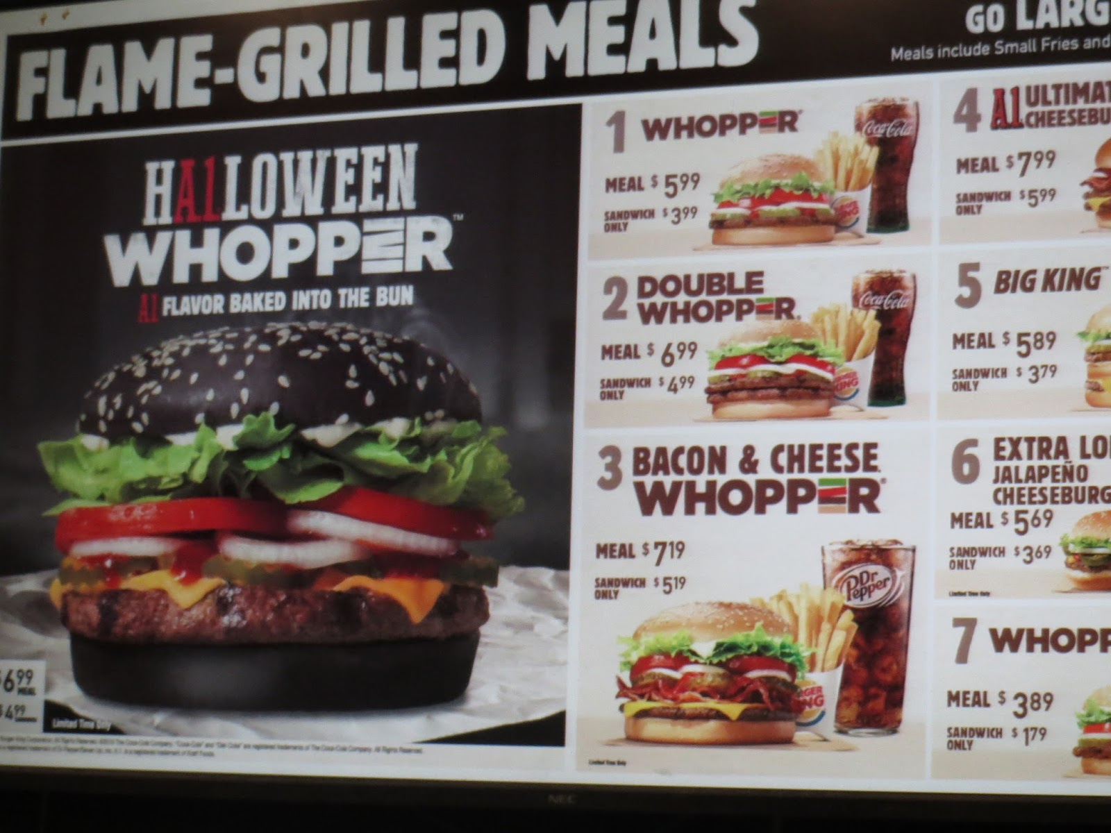 THE INTERNET IS IN AMERICA: The Burger King Halloween Whopper!