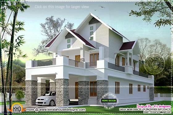 Cute residence design