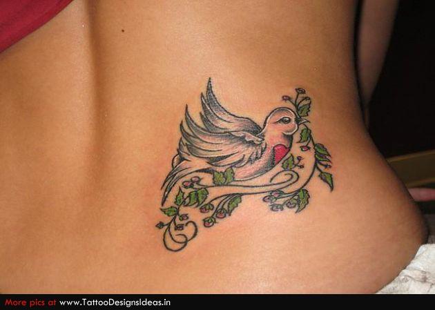 3d bird tattoos bird tattoos for Tattoo of doves