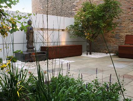 Casas minimalistas y modernas exteriores modernos i - Jardines modernos minimalistas ...