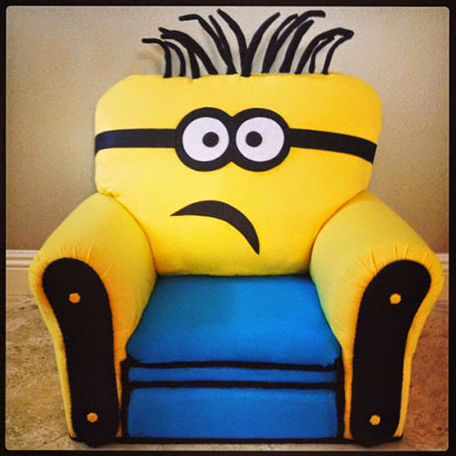 Minion Kid Chair