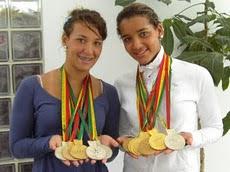 Estudiante de la Universidad Nueva Esparta Andreina Pinto calificó a las Olimpíadas de 2012