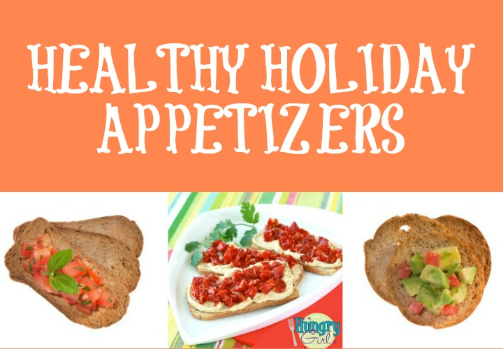 3 Healthy & Easy Veggie Appetizers for your Holiday Party vegetarian