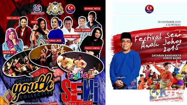 Festival Anak Seni Johor @Dataran Bandaraya