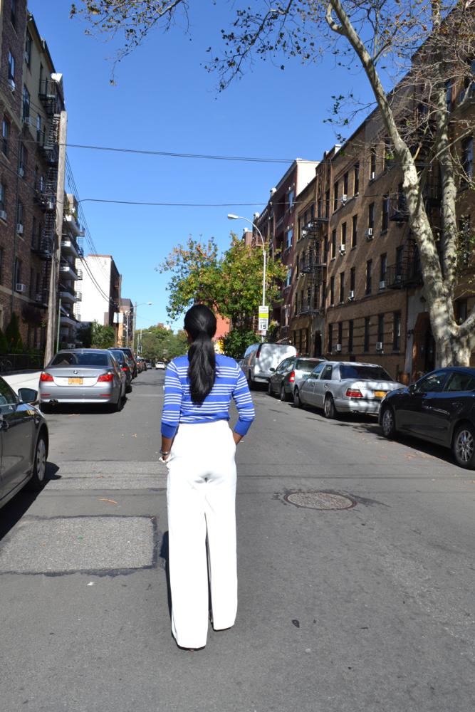 Zara wide leg pants white pants