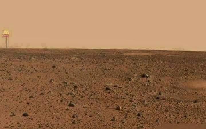 SCOPERTA LA VITA SU MARTE: LA NASA CONFERMA!!!LA FOTO