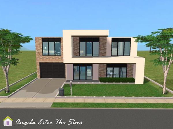 Angela ester the sims casa 10 the sims 2 - Casas bonitas sims 3 ...