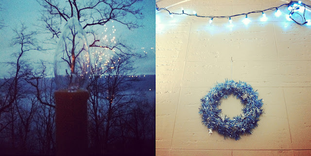 diptych © 2012 Amber Schley Iragui, Christmas, NYC