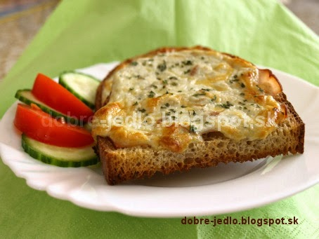 Zapekaný chlieb s nivou - recepty