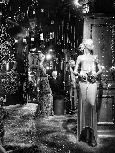 Waiting in the Corner, Saks Fifth Avenue, #5thAvenueHolidayWindows NYC 2013