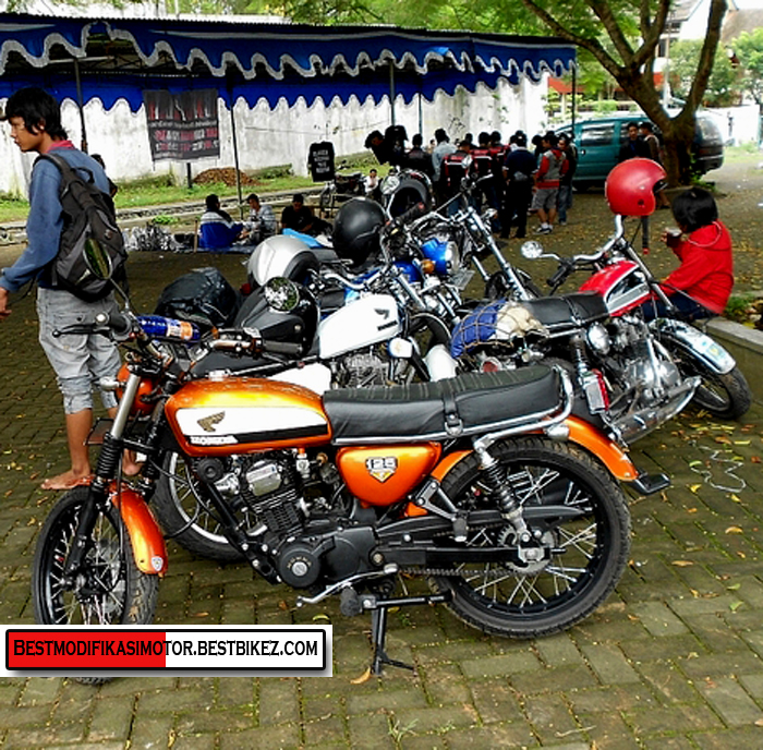 Modifikasi Honda CB Malang - Gambar Modifikasi Motor Terbaru