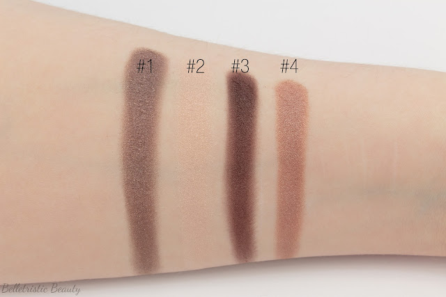 Chanel Tissé Rivoli 226 Les 4 Ombres Multi-Effect Quad swatches, Summer 2014, Collection in studio lighting