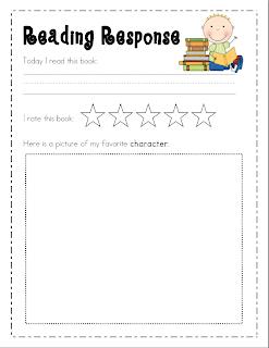 book report sheets for kindergarten