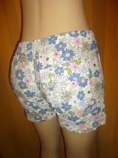 shorts anarruga tamanho 42 floral