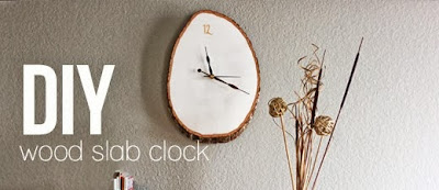 Woodslab Clock