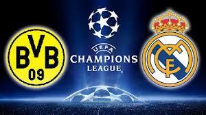تردد القنوات الناقلة لمباراة ريال مدريد وبوروسيا دورتموند Match Real Madrid Vs Borussia Dortmund