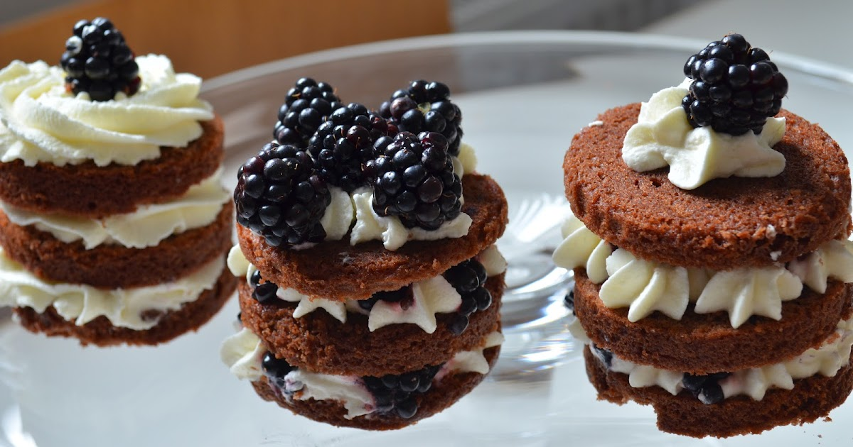 Recette Mini Sponge Cake