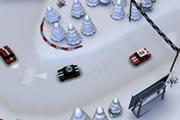Buzlu Yol Rallisi Oyunu
