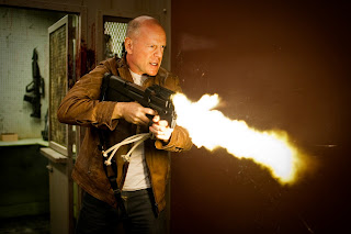 Looper, Rian Johnson, Joseph Gordon-Levitt, Bruce Willis, Blunt Emily, French poster, trailer, picture, poster