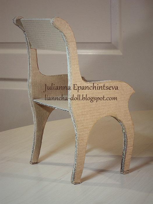 Сделать стул для куклы своими руками - Artosfera.ru