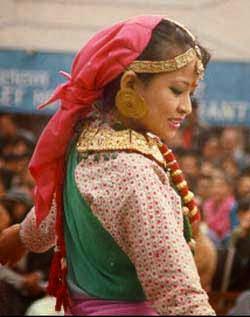 Gorkha Sanskrti Girl