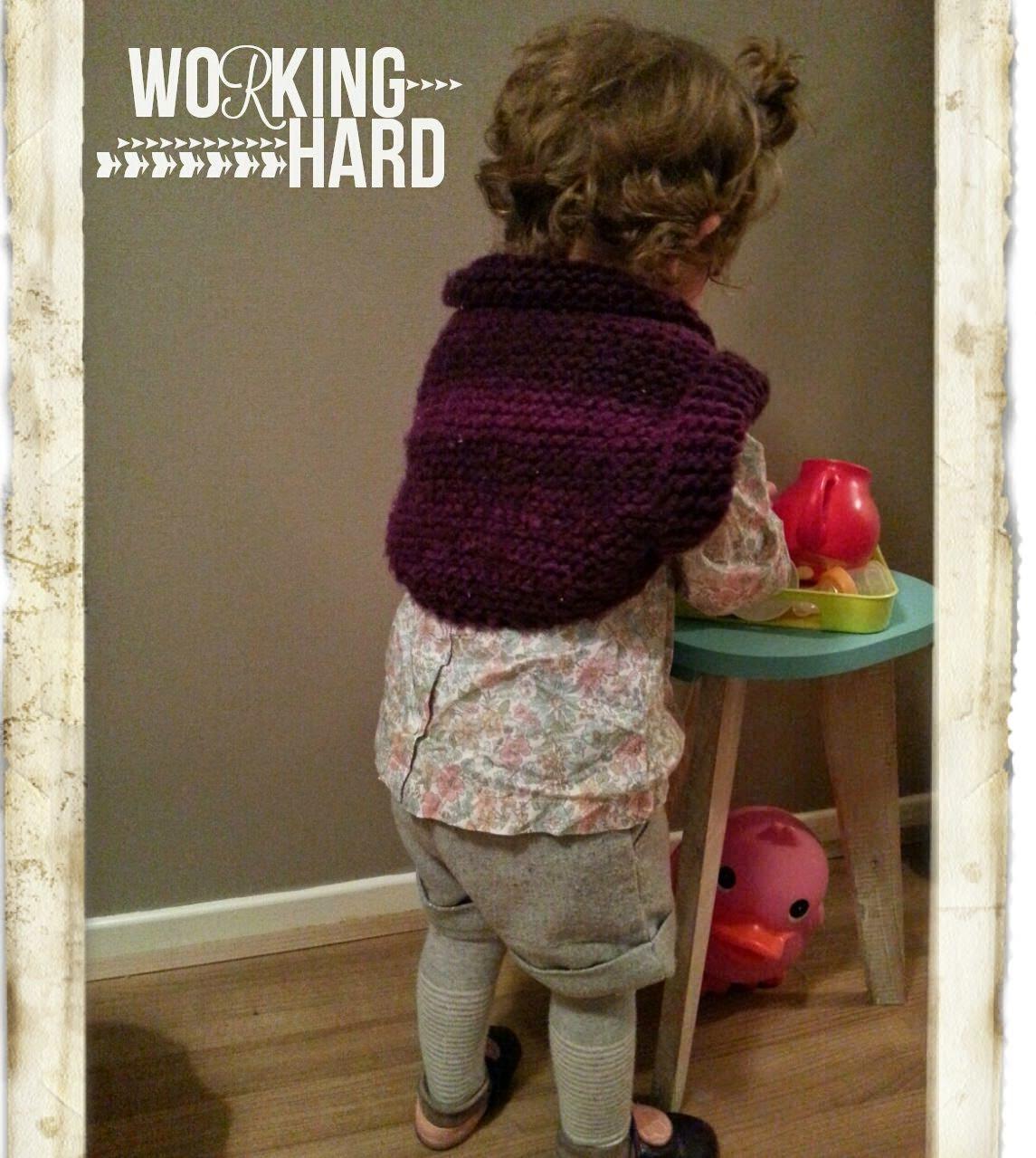 Modèle gratuit tricot boléro