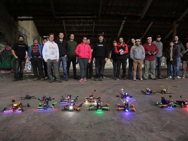 Balapan Drone