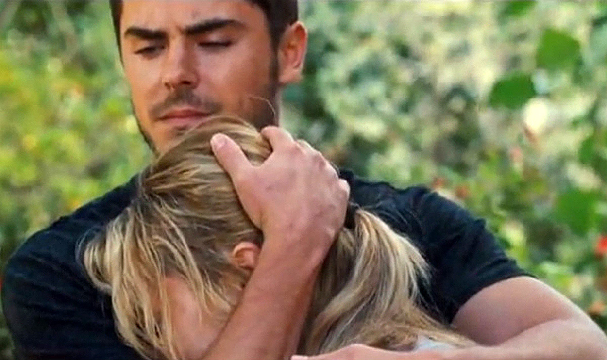 Zac Efron and Taylor Schilling   stars of Warner Bros   new romantic    Zac Efron Hairstyle Lucky One