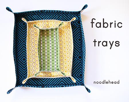 fabric tray tutorial - Noodlehead