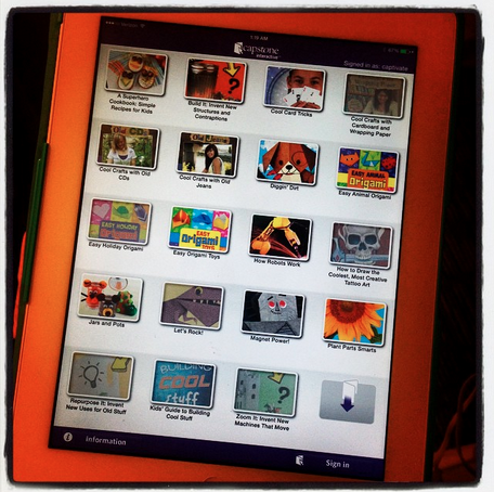 how to get downloaded books onto ipad