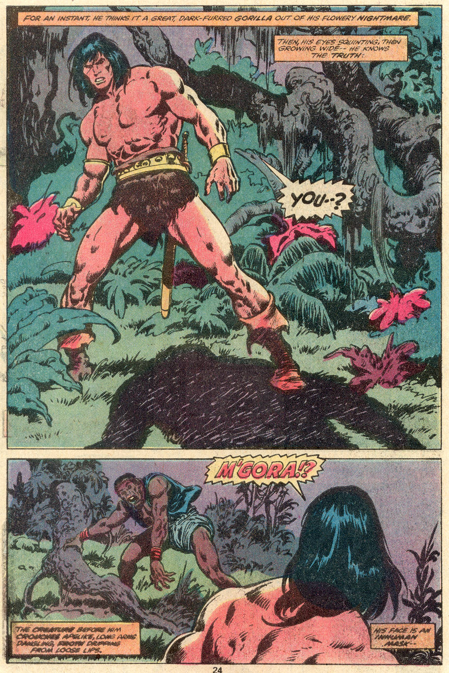 Conan the Barbarian (1970) Issue #100 #112 - English 19