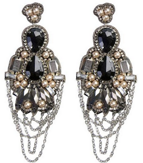 Rouen Drop Earrings - as seen on Alicia Keys - by Suzanna Dai - via Boticca