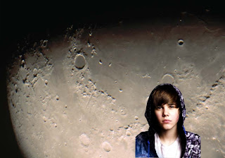 Justin Bieber photo wallpaper Justin Bieber sad face with hood in Moon Shine Radiance background for the fans