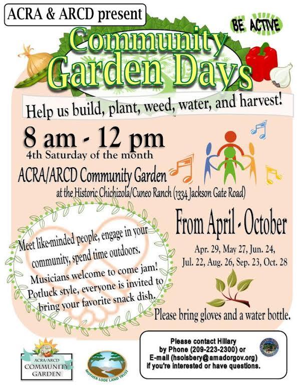 Community Garden Days