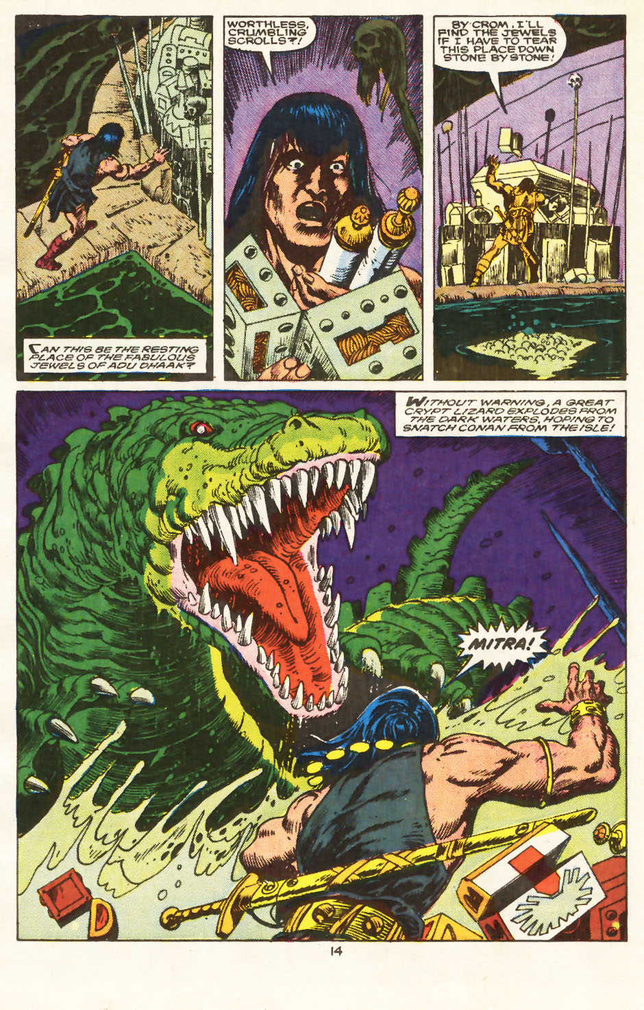 Conan the Barbarian (1970) Issue #217 #229 - English 11