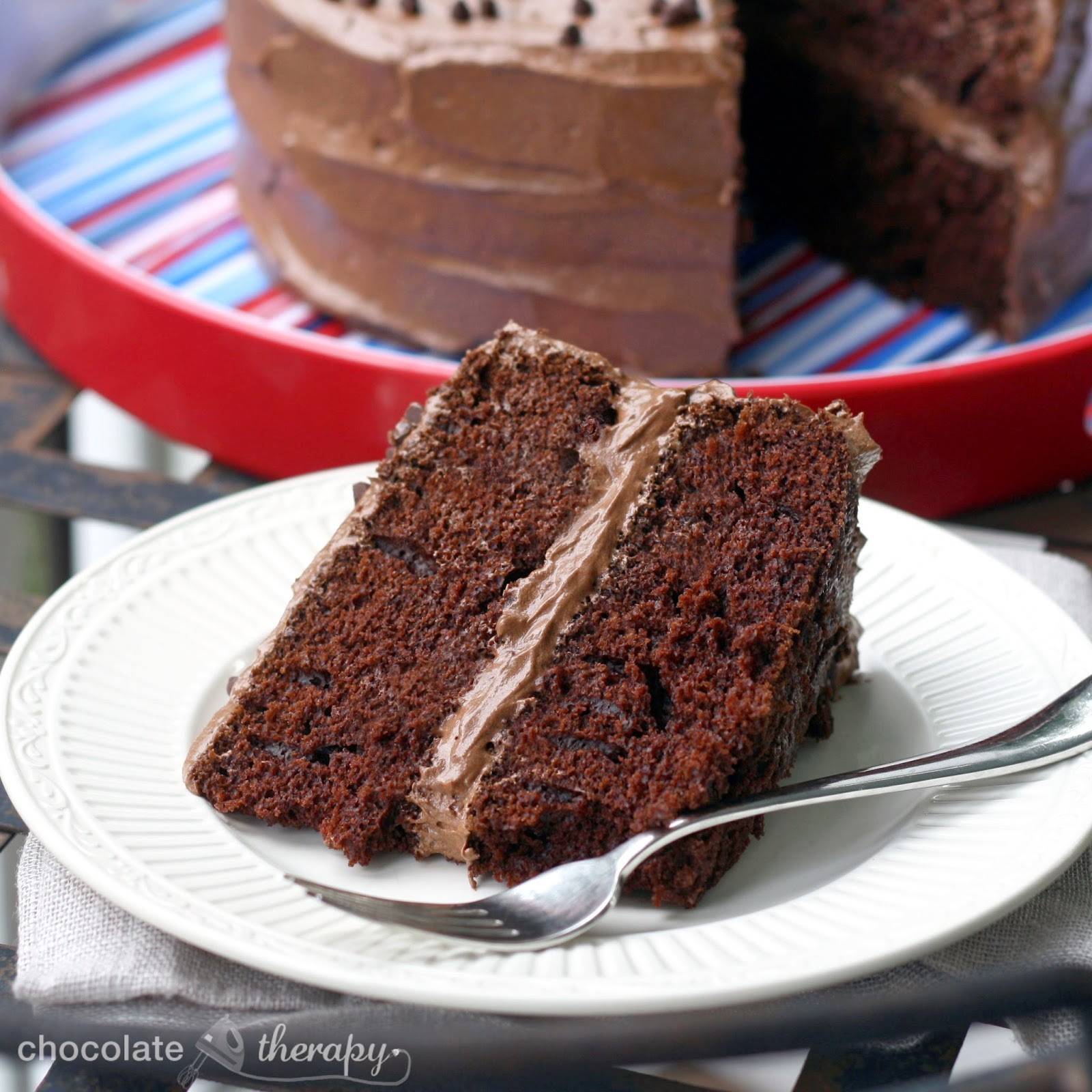 Chocolate Therapy: The Best Chocolate Cake