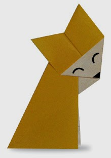 Origami Tutorials - How to make a Fox with Video