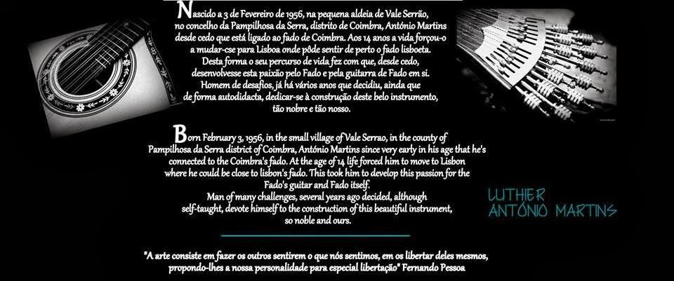 Arte da Guitarra Portuguesa - Alma, Dedicação e Coração