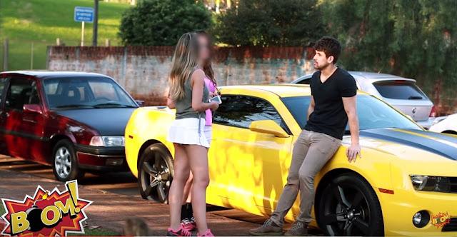Pegadinha do Camaro Amarelo