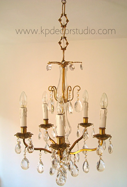 Kp decor studio mayo 2013 - Lamparas de cristal antiguas ...